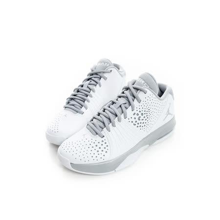 NIKE(男)籃球鞋-白-807546100