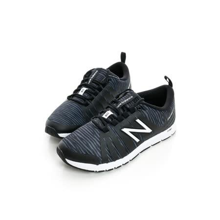 New Balance(女)慢跑鞋-黑白-WX811BZ