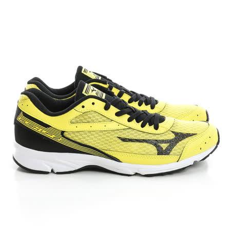 MIZUNO 美津濃 (男)慢跑鞋-綠黑-J1GA168309