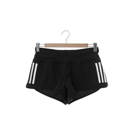 Adidas(女)褲(短)-黑白-AJ4851