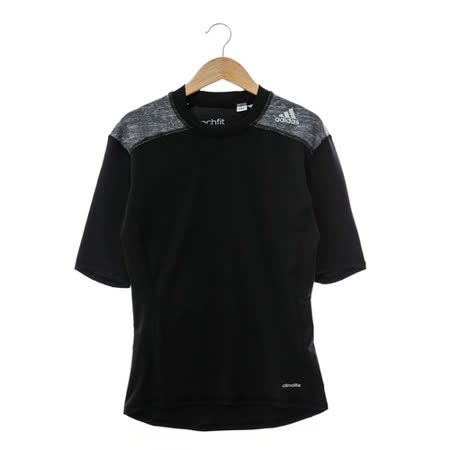 Adidas(男)圓領T(短)-黑-AJ4973