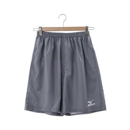 MIZUNO 美津濃 (男)慢跑短褲-灰-J2TB4A5505