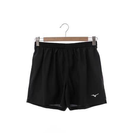 MIZUNO 美津濃 (男)慢跑短褲-黑-J2TB625909
