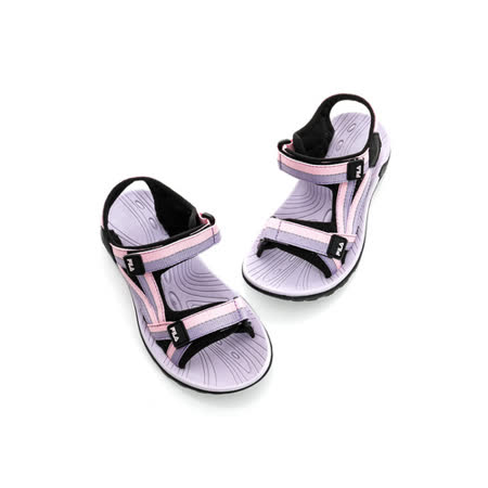 FILA(大童)涼鞋-粉紫-2S433Q955