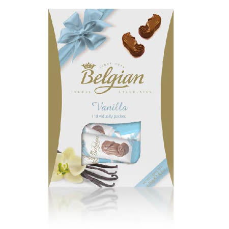 Belgian‧白儷人香草海馬巧克力135g