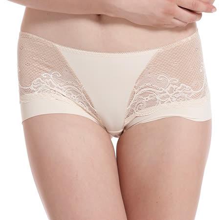 【LADY】涼感纖體美型系列 機能調整型 中腰平口褲(悠活膚)