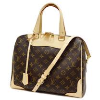 Louis Vuitton LV M50056 Retiro 經典花紋兩用仕女包.米邊_預購