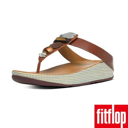 FitFlop™-(女款)JEWELEY™ TOE-POST-深褐色