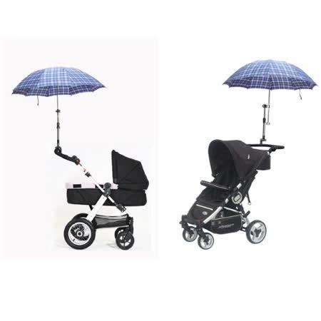((嬰兒手推車便利小工具)) 嬰兒推車雨傘支架 LSK123