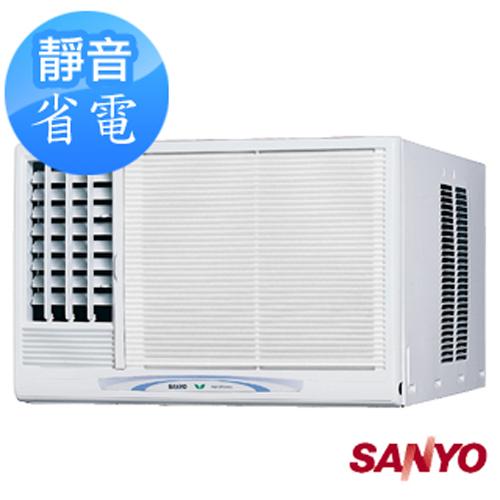 【夜間下殺】SANYO三洋 4-5坪左吹式窗型冷氣(SA-L28B) 送標準安裝