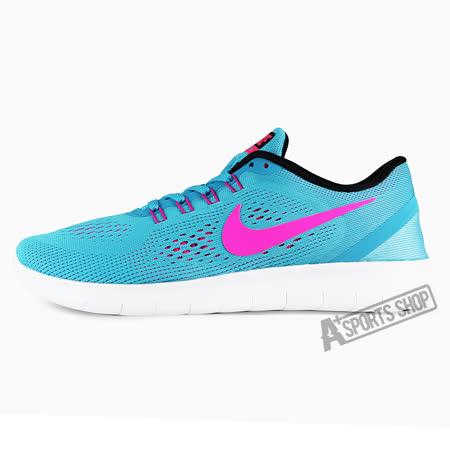 NIKE (女) 耐吉 WMNS NIKE FREE RN 慢跑鞋 藍-831509401