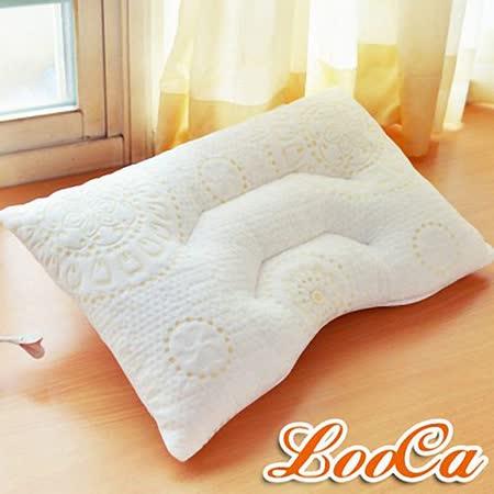 【LooCa 】兩用舒鼾好眠乳膠枕2入