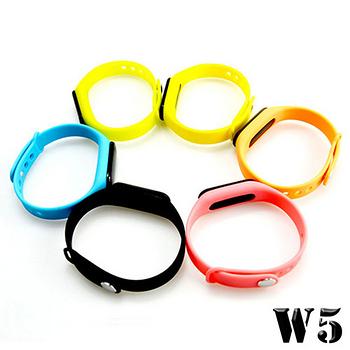 【 長江 】W5 觸控炫彩多功能藍牙心率手環(OLED螢幕顯示)