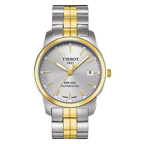 TISSOT PR100 簡約奢華設計機械腕錶-38mm/T0494072203100