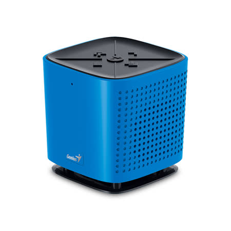 Genius 昆盈 SP-925BT 家用型環繞立體聲藍牙喇叭(藍色)