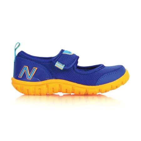 (童) NEWBALANCE 男女兒休閒鞋- 鞋 NB N字鞋 藍橘