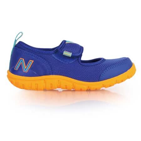 (童) NEWBALANCE 男女中休閒鞋- 鞋 NB N字鞋 藍橘