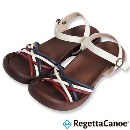 RegettaCanoe _(女款)CJFD-5311優雅樂步休閒鞋-紅/白/藍