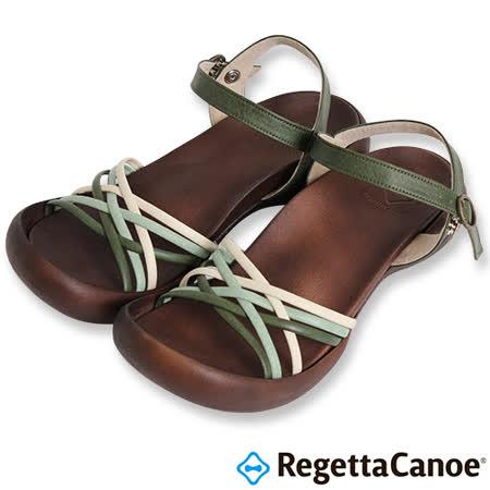 RegettaCanoe _(女款)CJFD-5311優雅樂步休閒鞋-綠色