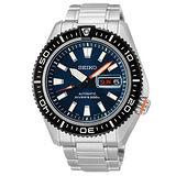 SEIKO Mechanical 海神波塞頓兩百米潛水機械腕錶(藍/42mm) 4R36-02Z0B 國際碼:SRP493J1