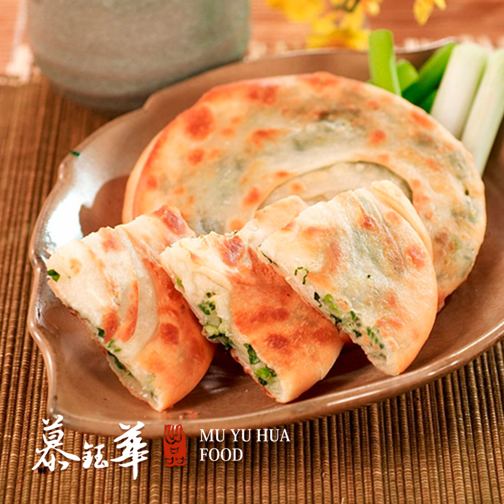 【慕鈺華】三星蔥油餅x2包(5片/包)