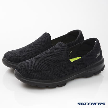 SKECHERS (男) 健走系列 GO Walk 3 - 54047BKGY
