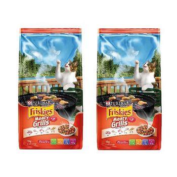 Friskies喜躍 香烤肉汁口味配方 貓乾糧 3公斤 X 2包
