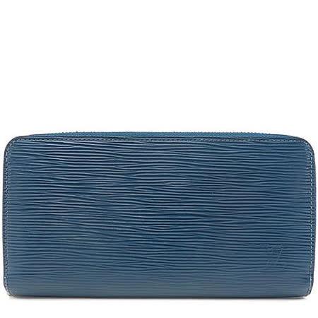Louis Vuitton LV M60307 EPI 水波紋多功能拉鍊長夾.靛藍色_預購