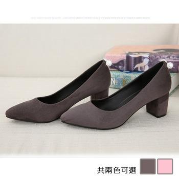 《JOYCE》優雅氣質百搭粗跟鞋