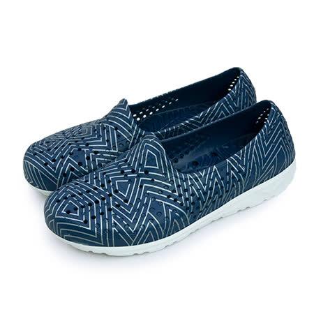 【男】PONY 防水透氣GOGO走路鞋 Tropic系列 深藍銀 62U1SA61DB