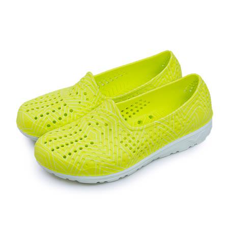 【女】PONY 防水透氣GOGO走路鞋 Tropic系列 淺黃 62U1SA61LY