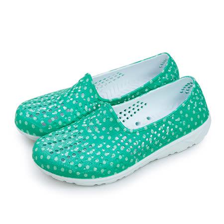 【女】PONY 防水透氣GOGO走路鞋 Tropic系列 綠白 62U1SA63LN