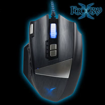 FOXXRAY 閃靈獵狐雷射電競滑鼠(FXR-HML-02)