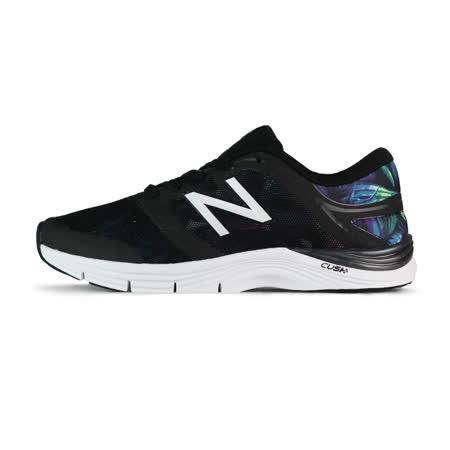 New Balance 女 WX711 多功能 訓練鞋 紐巴倫 黑/花 - WX711GW2