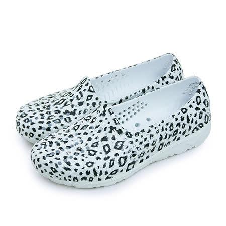 【女】PONY 防水透氣GOGO走路鞋 Tropic系列 豹紋白 62U1SA65RW