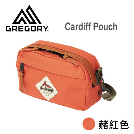【美國Gregory】Cardiff Pouch日系休閒側背包 (赭紅色)