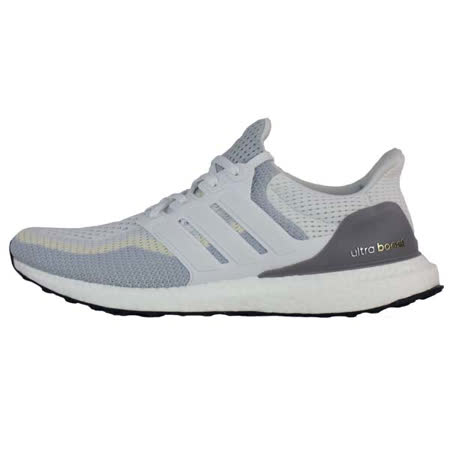 ADIDAS (男) 愛迪達 MEN'S RUNNING ULTRA BOOST SHOES 慢跑鞋 漸層 白-AQ4007