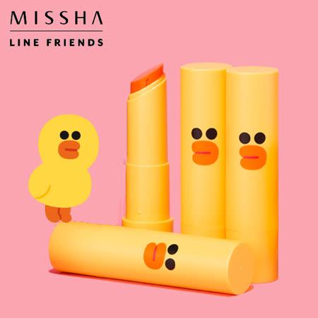 韓國 MISSHA x LINE FRIENDS 莎莉魅惑瑩潤唇膏 4g 限量聯名