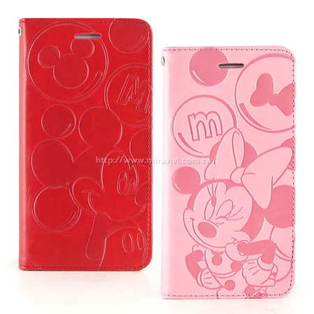 Disney HTC One A9 角色泡泡壓紋側掀可立式皮套