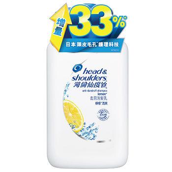海倫仙度絲去屑洗髮乳-檸檬清爽1000ml