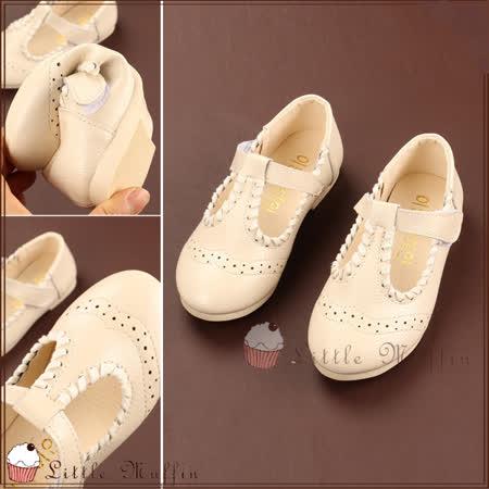 氣質雕花皮質公主鞋/娃娃鞋/花童鞋/禮服鞋 止滑膠底外出鞋