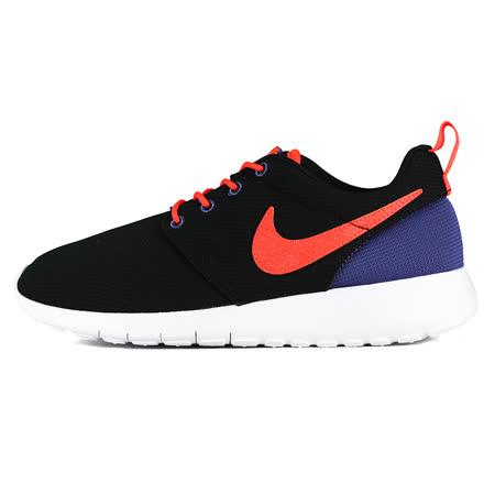 Nike 女 NIKE ROSHE ONE BG 耐吉 經典復古鞋 橘/黑 - 599728029