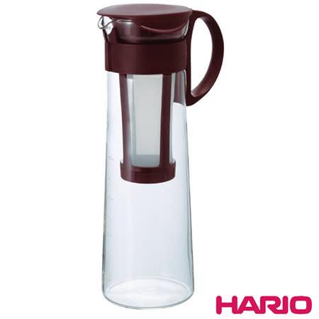 日本HARIO 冷泡冰滴咖啡壺/泡茶壺1000ML(含濾網) HAR-MCPN14 顏色隨機