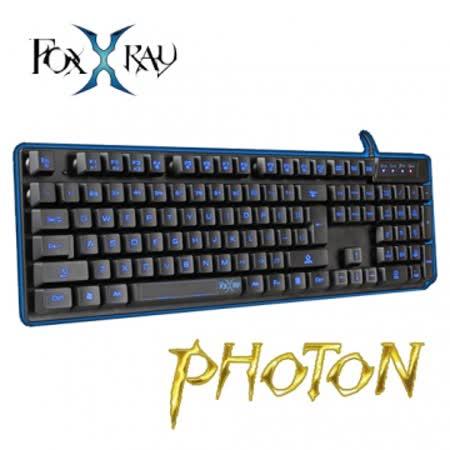 foxxray光鐳戰狐背光電競鍵盤(FXR-BKL-07)