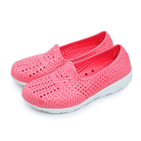 【女】PONY 防水透氣GOGO走路鞋 Tropic系列 螢光粉 62U1SA61PK