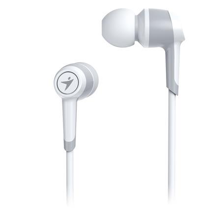 Genius 昆盈 HS-M225 手機專用入耳式抗噪耳機麥克風(白色)