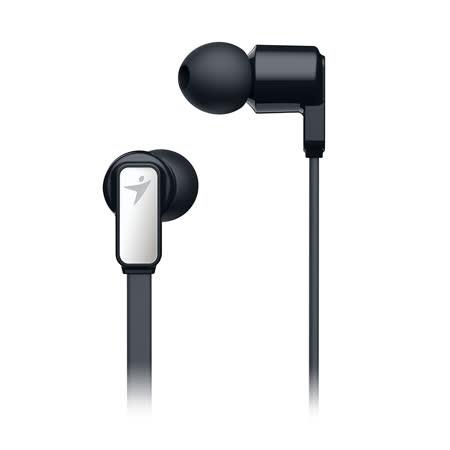 Genius 昆盈 HS-M260 手機專用高音質入耳式降噪耳機麥克風(黑色)