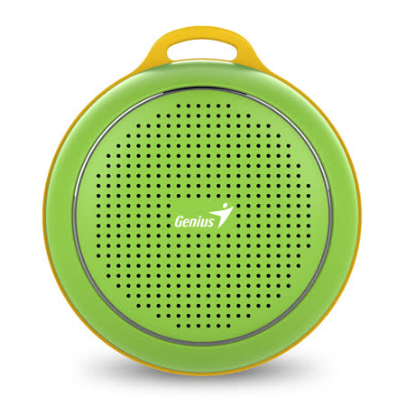 Genius 昆盈 SP-906BT 便攜型藍牙無線喇叭(動感綠)