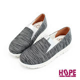 【HOPE】MIT時尚拼接厚底休閒鞋–黑(K124IF4008)