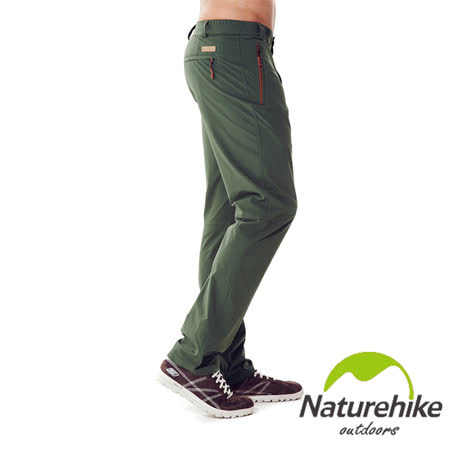 Naturehike 單色休閒褲 速乾褲 戶外褲 男款(軍綠)